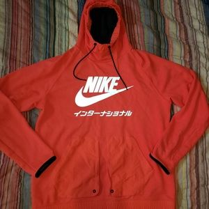 Nike international reflective hoodie
